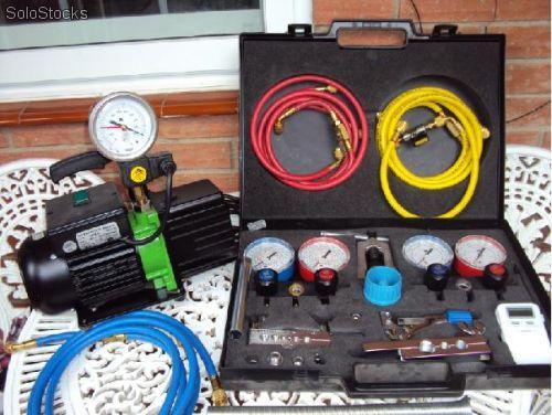 Instalar un aire acondicionado sin bomba de vacio for Como montar un aire acondicionado