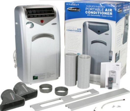 Sirven los climatizadores portatiles for Aire acondicionado aparato exterior