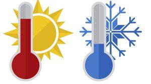aire acondicionado frío y calor