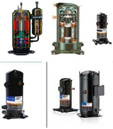 Compresor de aire acondicionado for Cambiar instalacion electrica sin rozas