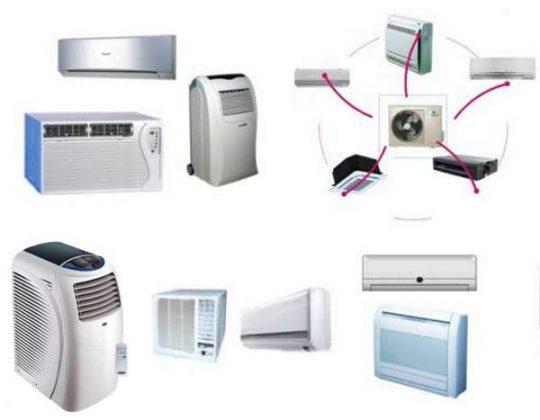 Equipos de aire acondicionado dom sticos tipos y for Aire acondicionado oficina